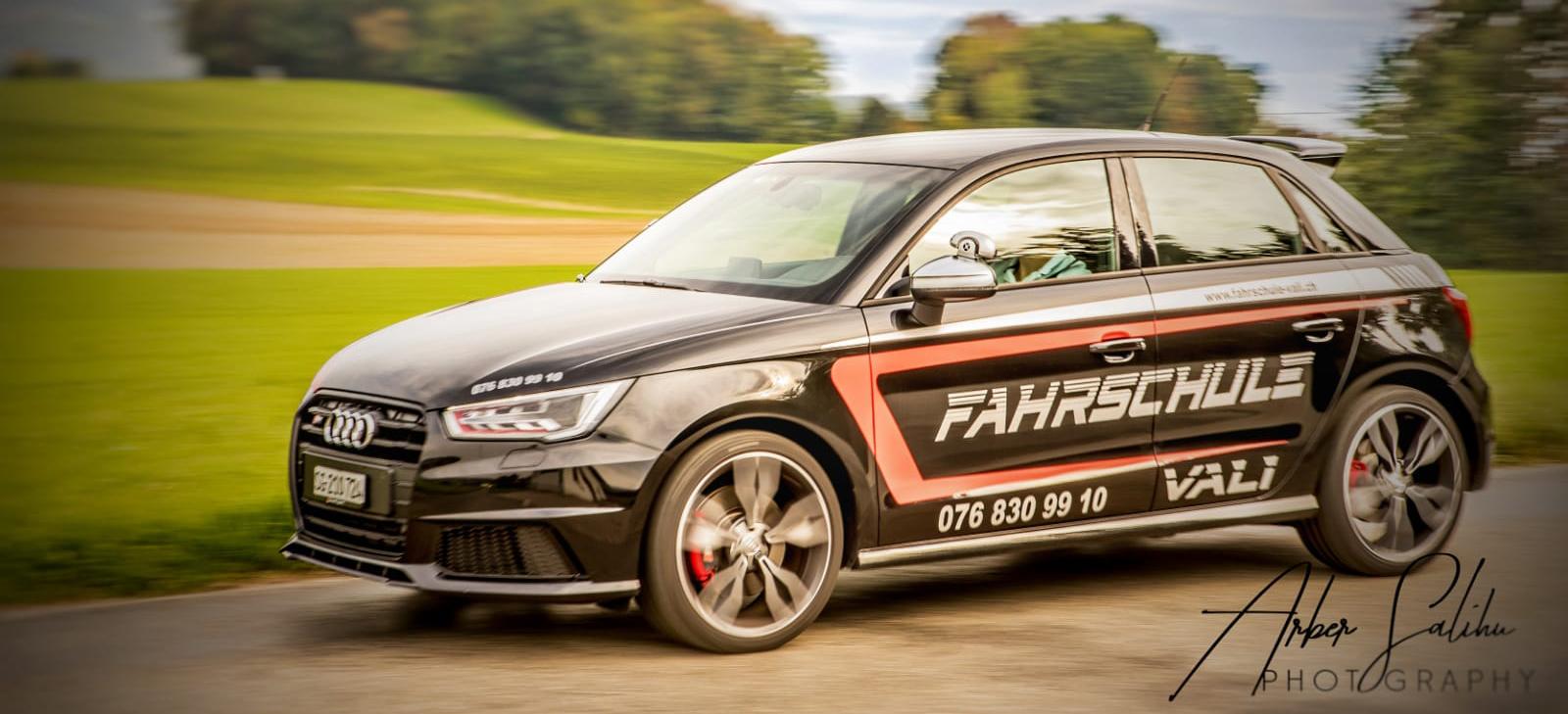 Fahrschule Vali - Beschriftetes Auto Audi A1